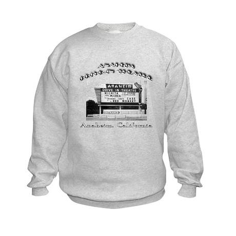 Anaheim Drive-In Theatre Kids Sweatshirt