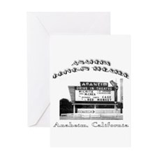 Anaheim Drive-In Theatre Greeting Card