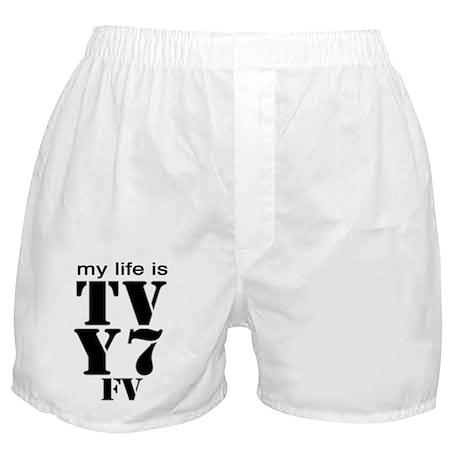 TV Y7 Boxer Shorts