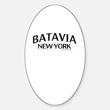 Batavia Sticker (Oval)