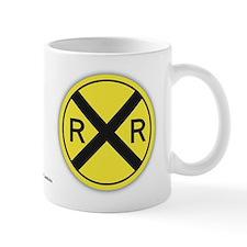 Railroad Crossing Signs Mug