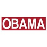 STOP OBAMA Sticker (Bumper 50 pk)