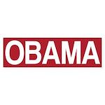 STOP OBAMA Sticker (Bumper)