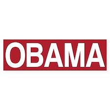 STOP OBAMA Bumper Sticker