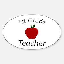 First Grade Teacher Decal