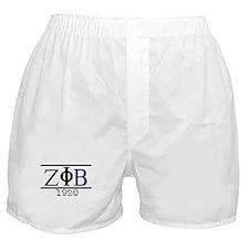 Z PHI B 1920 Boxer Shorts