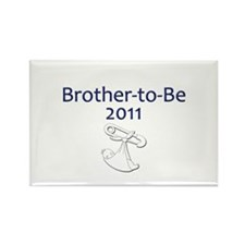 Brother-to-Be 2011 Rectangle Magnet