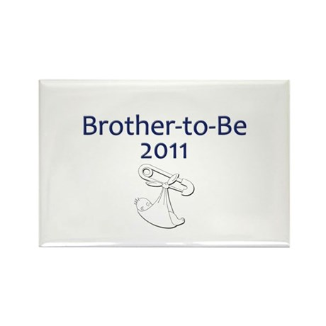 Brother-to-Be 2011 Rectangle Magnet (100 pack)