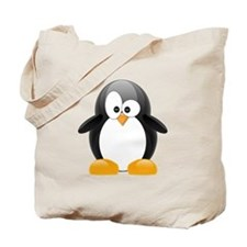 Black Penguin Tote Bag