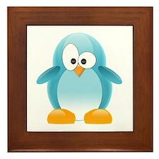 Blue Penguin Framed Tile