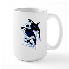Orca Family Mug