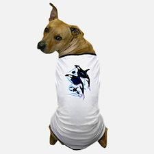 Orca Family Dog T-Shirt