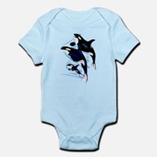 Orca Family Infant Bodysuit