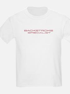 Backstroke Specialist Kids T-Shirt