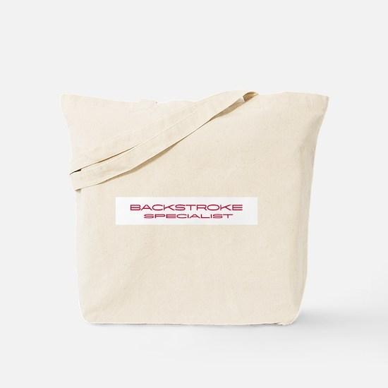 Backstroke Specialist Tote Bag