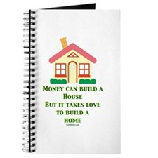 Love Builds A Home Journal