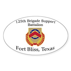 125th BDE Support Bn Decal