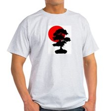 Rising Sun Ash Grey T-Shirt