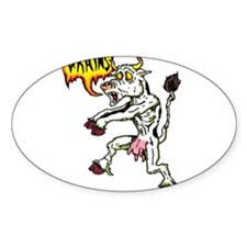 Cute Funny zombie Decal