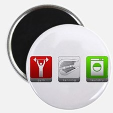 """GTL - Gym, Tanning, Laundry 2.25"""" Magnet (10 pack)"""