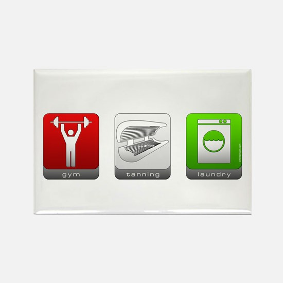 GTL - Gym, Tanning, Laundry Rectangle Magnet