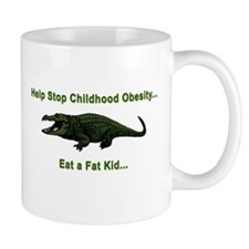 CHILDHOOD OBESITY Mug