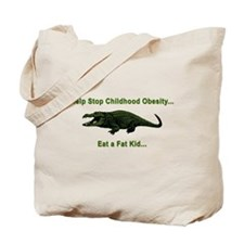 CHILDHOOD OBESITY Tote Bag
