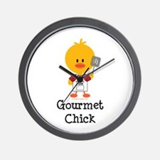Gourmet Chick Wall Clock
