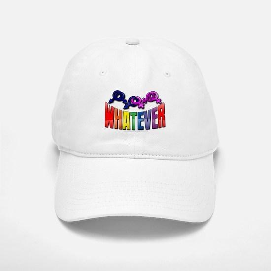 Whatever Baseball Baseball Cap