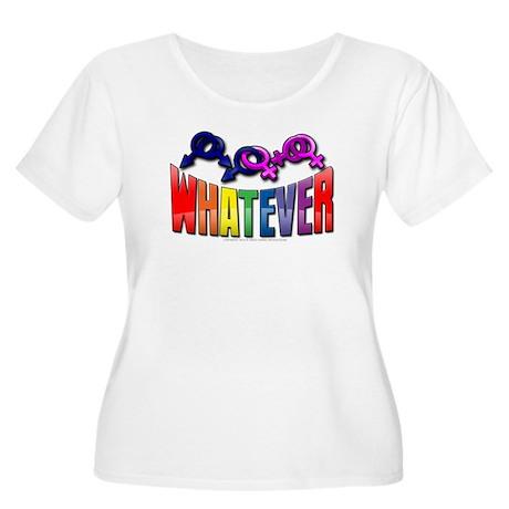 Whatever Women's Plus Size Scoop Neck T-Shirt