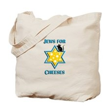 Jews for Cheeses Tote Bag