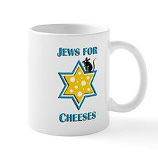 Jews for Cheeses Mug