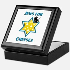 Jews for Cheeses Keepsake Box