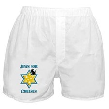 Jews for Cheeses Boxer Shorts