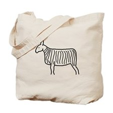 Bluefaced Leicester Sketch Tote Bag