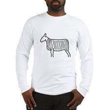 Bluefaced Leicester Sketch Long Sleeve T-Shirt