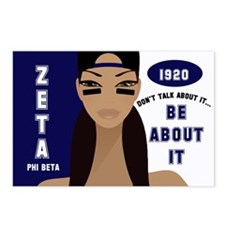 DON'T TALK ABOUT IT - ZETA CHICK Postcards (Packag