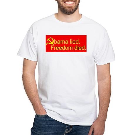 Obama lied Soviet t-shirt