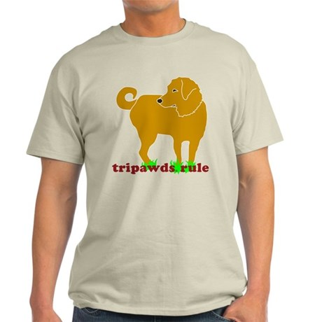 Golden Tripawds Rule Light T-Shirt