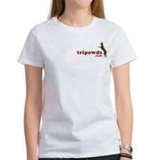 2-Sided Golden Tripawd Tee
