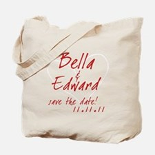 Save The Date Red Light Shirt Tote Bag