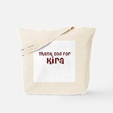 Thank God For Kira Tote Bag