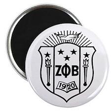 ZETA CREST - BLACK Magnet