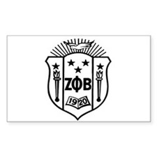 ZETA CREST - BLACK Decal