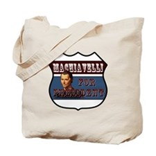 Machiavelli Tote Bag