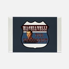 Machiavelli Rectangle Magnet