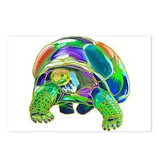 Rainbow Tortoise Postcards (Package of 8)