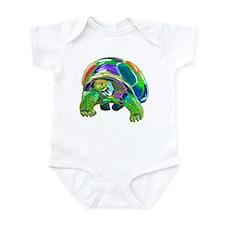 Rainbow Tortoise Infant Bodysuit