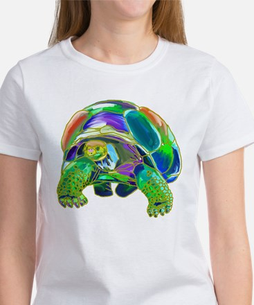 Rainbow Tortoise Women's T-Shirt