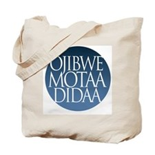 let's speak ojibwe  Tote Bag